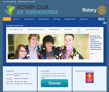 Turramurra rotary website